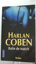 HARLAN COBEN BALLE DE MATCH POCKET 2011 THRILLER NEUF