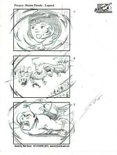 MARK SIMON Hand Drawn Disney MGM Studios Mulan Parade Storyboard Page Signed #MS