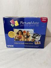 Epson PictureMate Personal Photo Lab Printer Windows Macintosh Model B271A