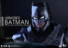 Hot Toys MMS 356 Dawn of Justice: Armored Batman- Black Chrome version