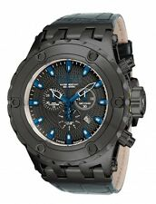 New Mens Invicta 17660 Reserve Subaqua SWISS MADE Chronograph Leather Watch