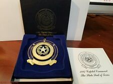 1997 The State of Texas Seal - Texas State Capitol Ornament - Box and Pamphlet