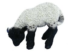 Vivid Arts - Real Life Black & White Lamb Home or Garden Decoration (XRL-BLLB-D)