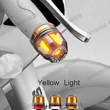 Handlebars Grip Handle Bar End Block Caps Cover Turn Signals Light For Honda New