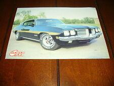 1970 - 1971 PONTIAC GT-37 MUSCLE CAR  ***ORIGINAL 1986 ARTICLE***