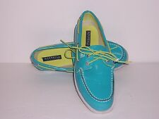 Sperry Top Sider Women's Ao Patente Leather Boat Shoes Size 7M