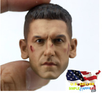 1/6 Punisher Head Sculpt Jon Bernthal For Hot Toys PHICEN Figure ❶USA IN STOCK❶