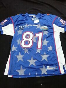 2004 PRO BOWL TERRELL OWENS NEW W/TAGS  AUTHENTIC ON FIELD REEBOK JERSEY SIZE 56