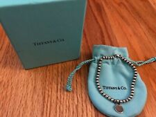 "RETURN TO TIFFANY & CO. STERELING SILVER 7"" BRACELET - NO LONGER IN PRODUCTION"