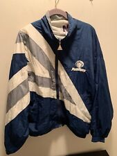 Vintage Ng Penn State Men's Blue Spell Out Zip Up Jacket Size Small EUC