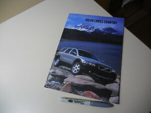 VOLVO CROSS COUNTRY Japanese Brochure 2001/09 5244