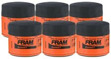 Fram Extra Guard PH6607 Spin-On Oil Filter - (Pack of 6)
