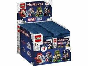 LEGO Minifigures Marvel Studios FULL BOX OF 36 71031