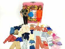Vintage 1966 German American Girl Barbie TLC Lot w/ 1968 Ken Doll / Vintage Case
