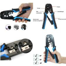 Yangoutool Network Cable Cutting Stripping Crimper,Cat 5 Stripper Crimping Tool