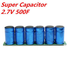 Farad Capacitor 2.7V 500F Super Capacitor With Protection Board USA SELLER