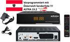 AUSTRIA Sat-Receiver für HD TV Neue Karten Amiko Mira 2 Astra 19.2 Österreich