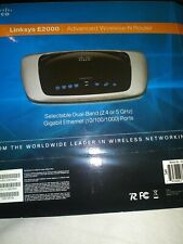 CISCO LINKSYS E2000 WIRELESS-N ROUTER, 4 PORTS, 300 Mbps DUAL BAND, 5 GHz