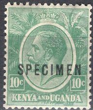 KUT KENYA AND UGANDA 1922/7 STAMP Sc. # 21 MH SPECIMEN