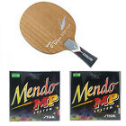 Nittaku Flame  Stiga Mendo Rubbers Table Tennis Racket Combo