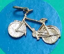Charm Y107 Bicycle Sterling Silver Vintage Bracelet