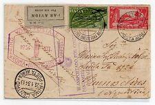 1934 REGNO cartolina  ROMA-BUENOS AIRES 3 Lire