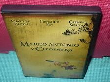 MARCO ANTONIO Y CLEOPATRA - CHARLTON HESTON - REY - SEVILLA -  dvd