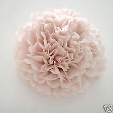 Dusky / dusty pink color tissue paper PomPoms - handmade / Dusty rose / blush