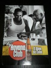 2001 - HAVANA CLUB CUBA - AD PUBLICITE ANUNCIO- SPANISH - 1501