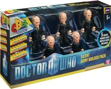 DOCTOR WHO Silent Army Builder Pack 5 Micro-figure set NEW * the silence dr
