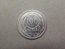100 Kurush 1934 Kurus Silber Münze Kemal Atatürk Türkei Türkiye #2