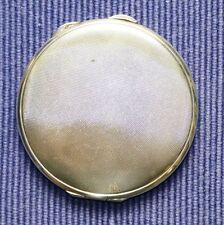 Art Deco Puderdose Schminkkästchen 835 S Meistermarke D.K. Silberdose rund 67 Gr