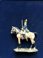 SOLDAT DE PLOMB CAVALIER EMPIRE SERGENT DES LIGHT DRAGONS 1795