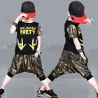 Fashion Cool Dancewear Dance Costume Girls Boys New Jazzy Dance
