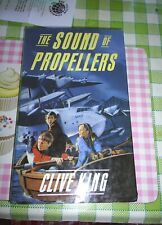 The Sound of Propellors by Clive King Hardback 1986 Viking Kestral 1st Edition