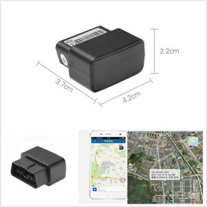 OBD GPS GPRS Car Tracker Real Time Device Locator LED Indicator Remote Control