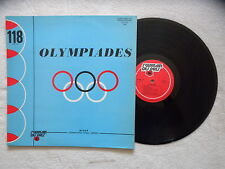 "LP VARIOUS ""Olympiades"" ST GERMAIN DES PRES St GDP 118 FRANCE §"