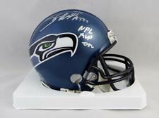 Shaun Alexander Signed Seattle Seahawks 02-11 TB Mini Helmet w/ NFL MVP- Beckett