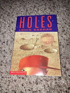 Holes by Louis Sachar- Paperback Book