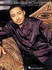 Smokie Norful : I Need You Now (2003, Songbook Sheet Music Song Book