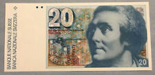 1978 - Switzerland 20 Francs - UNC