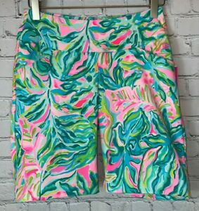 NWT LILLY PULITZER Reid Short ONE IN A MELON GOLF Size 00 Luxletic Shorts $88.00