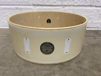 "Mapex Wooden Snare Drum Shell 14""x5.5"" Bare Wood Project / Upcycle"