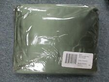 SILKY SOFT Satin 4 piece CALIFORNIA KING Sheet Set Polyester OLIVE BEAUTIFUL