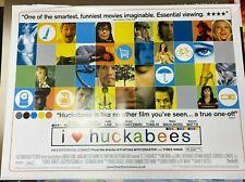 I Heart Huckabees (2004) starring Mark Walberg - Original UK Quad Film Poster