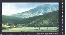 MONTSERRAT: Golf Course featured on back of booklet (Sc 322a), Carib artifacts