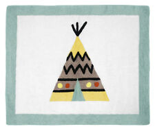 Teepee Floor Rug for Boys Kid Baby Sweet Jojo Outdoor Adventure Bedding Sets