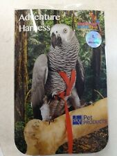 ADVENTURE BOUND PET PARROT BIRD HARNESS SIZE LARGE (MACAW)