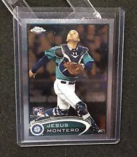 Jesus Montero Rookie 2012 Topps Chrome card 170 Mariners RC