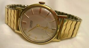 Vintage Gruen Precision Men's Mechanical Wind Watch 17j Swiss 510 Movement